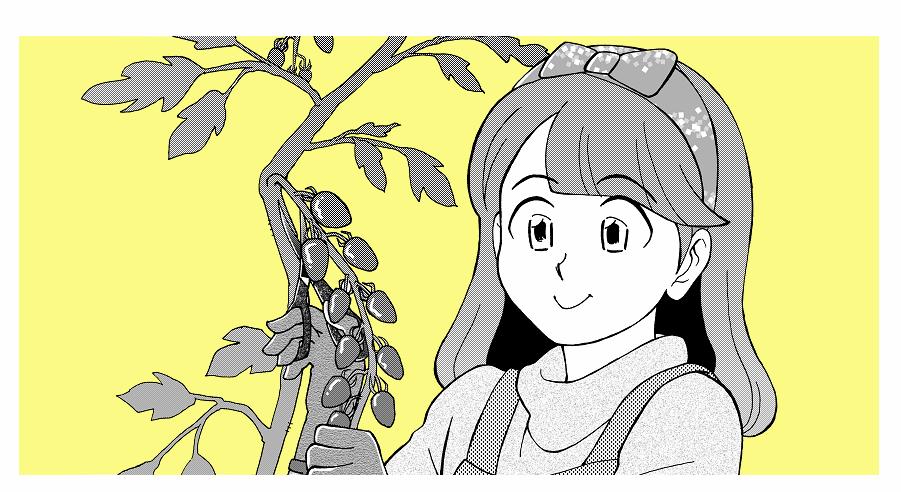 オリジナルマンガ【ミノリのミドリ】を公開します!