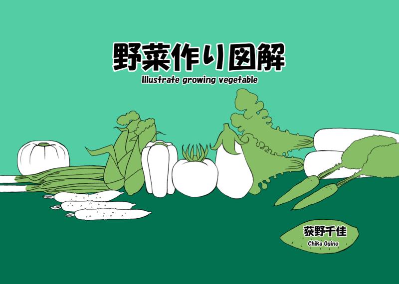 オリジナル冊子【野菜作り図解】作りました、絶賛発売中です!